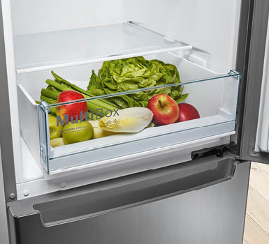 MultiBox. Enough space for all your fresh food.