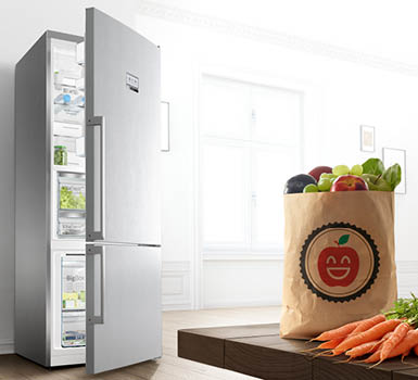 SuperCooling. The fridge that knows how to keep its cool.