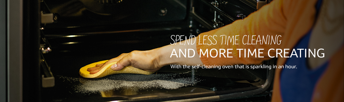 Spend less time cleaning and more time creating