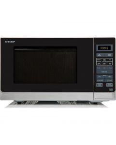 Sharp R372SLM 25 Litre Solo Microwave - Silver