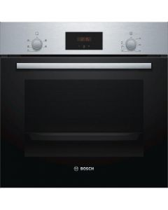Bosch HHF113BR0B Serie 2 Built In Electric Single Oven with 3D Hot Air