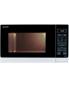 Sharp R372WM 25 Litre Solo Microwave - White