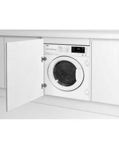 Beko WDIC752300F2 Integrated 7kg/5kg 1200 spin Washer Dryer.
