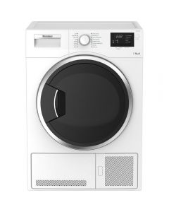 Bomberg LTK21003W 10kg Condenser Tumble Dryer - White