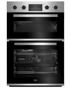 Beko CDFY22309X Built In Electric Double Oven Stainless Steel