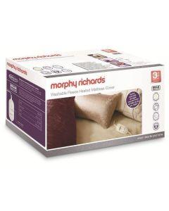 Morphy Richards 620012 Luxury Fleece 4 Heat Mattress Cover Double Blanket