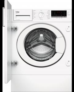 Beko WTIK74151F 7kg 1400 Spin Integrated Washing Machine - White