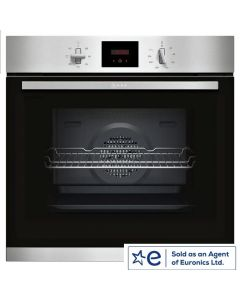 Neff B1GCC0AN0B Built In Electric Single Oven - Stainless Steel - A Energy Rated Northern Ireland Only Delivery