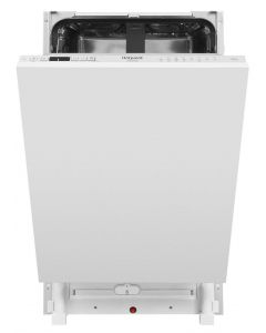 Hotpoint HSICIH4798BI Integrated Slimline Dishwasher - Stainless Steel