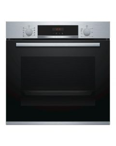 Bosch HBS573BS0B Built In Electric Single Oven with 3D Hot Air - Stainless Steel
