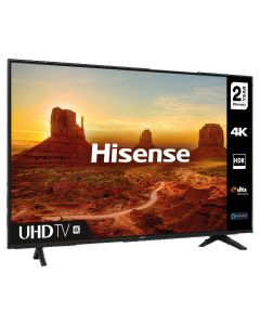 "Hisense 55A7100FTUK 55"" 4K Ultra HD Smart TV with Studio Sound & Freeview Play"
